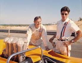 Bruce McLaren (left)