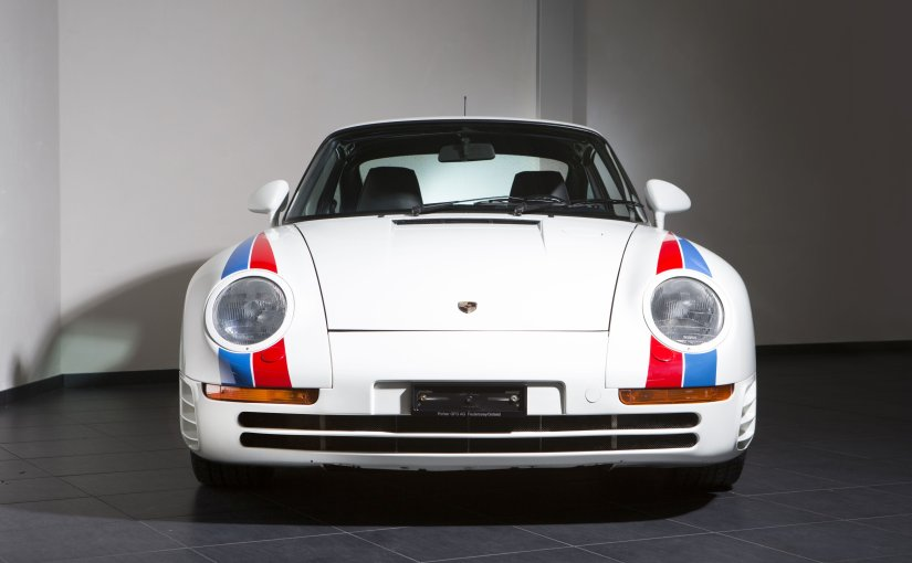 A Porsche 959 Coupè for sale at Bonhams Spa Classic Sale on 24 may