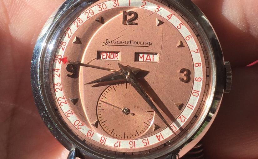 Jaeger-LeCoultre Triple Calendar