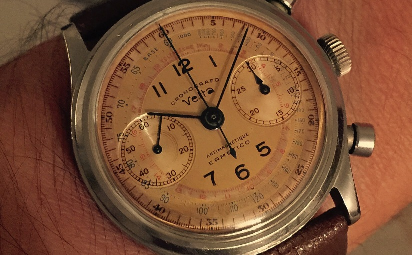 """Have you ever seen a Vetta """"Ermetico"""" Chronograph likethis?"""