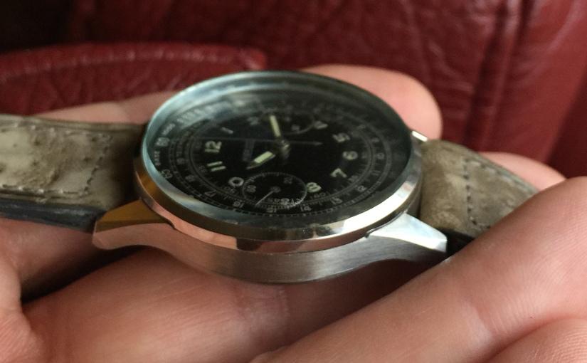Niga watch: Two Blackout-Chronographs TurnedSeventy