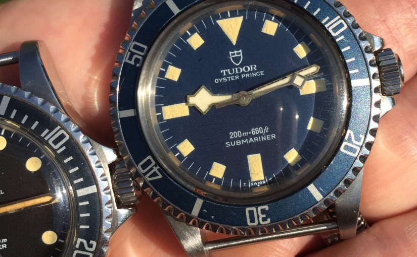 A 1982 Tudor Submariner Marine Nationale (MN) in mintcondition
