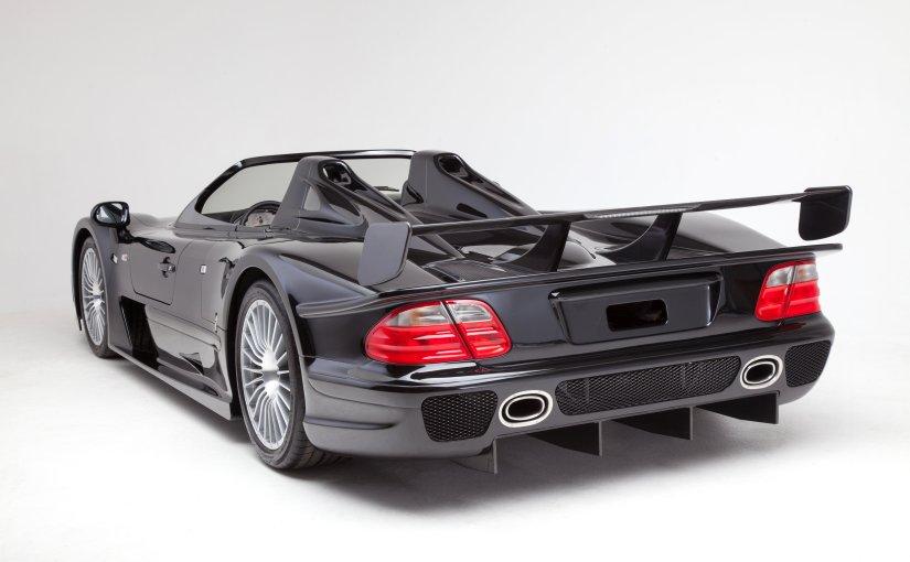 #1 Mercedes CLK GTR Roadster ever built offered at Bonhams Festival of Speedsale