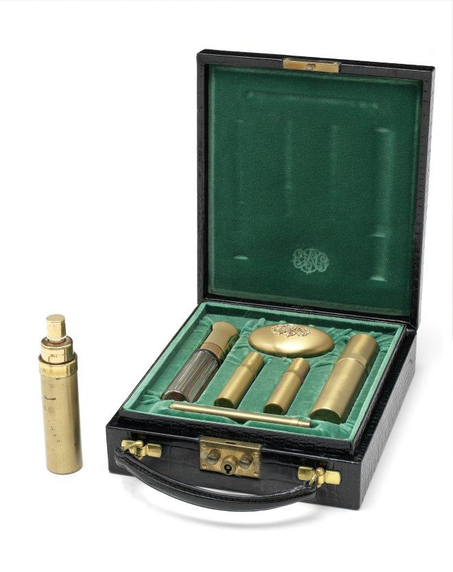 Lot 112 An Asprey vanity case from James Bond, On Her Majesty's Secret Service