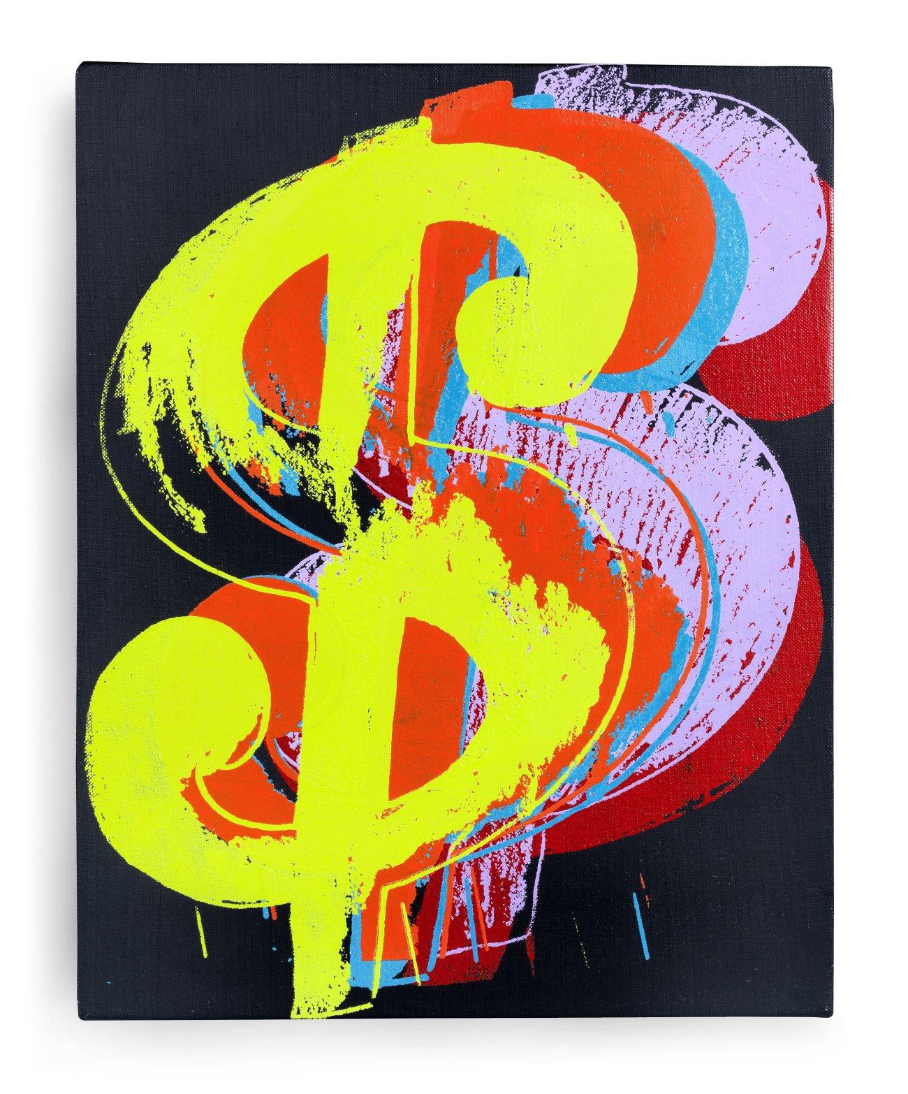 Lot 21 - Andy Warhol (1928-1987) Dollar Sign 1982