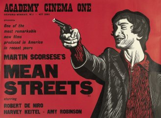Lot 37 - Mean Streets, Warner Brothers, 1973, by Peter Strausfeld