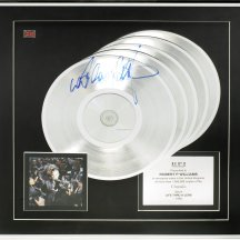 LOT 46- A MULTI-PLATINUM AWARD FOR THE ALBUM LIFE THRU A LENS,