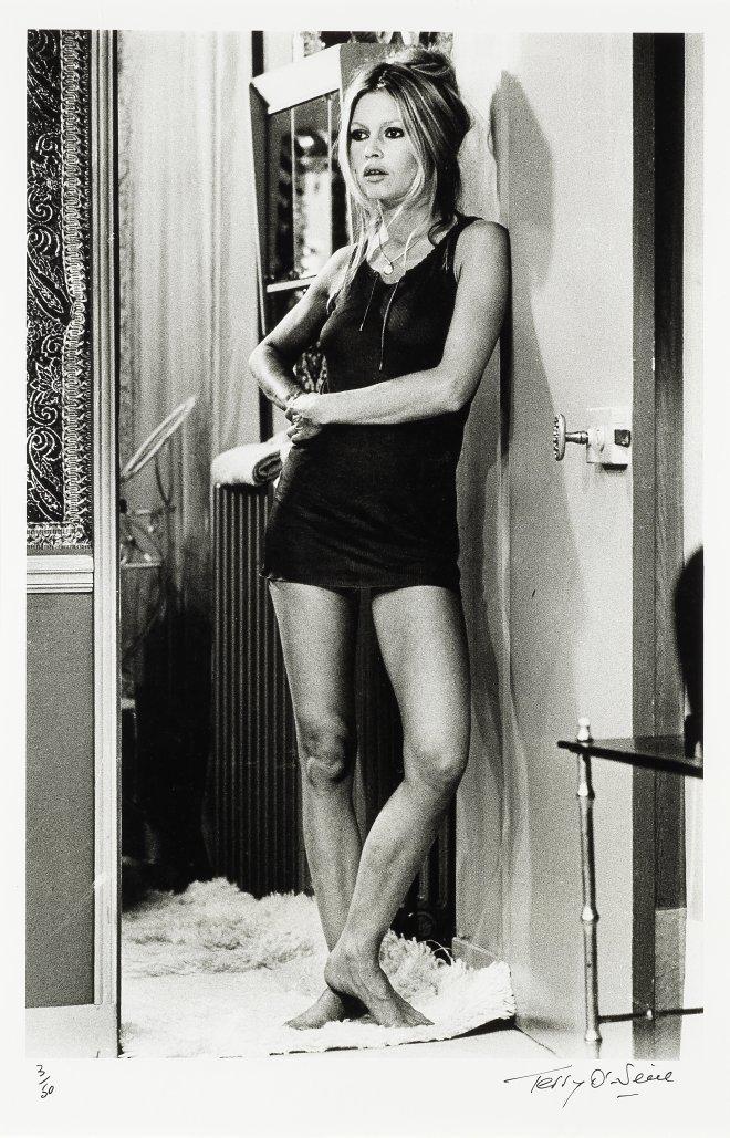 Lot 68 - Brigitte Bardot Terry O'Neill (British, b. 1938) gelatin silver print, St. Tropez 1967