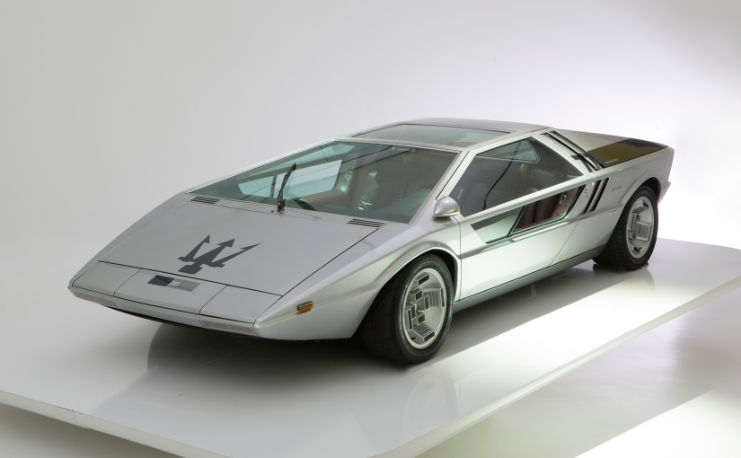 "The ""one of a kind"" Maserati Boomerang offered at Bonhams Chantilly Sale"