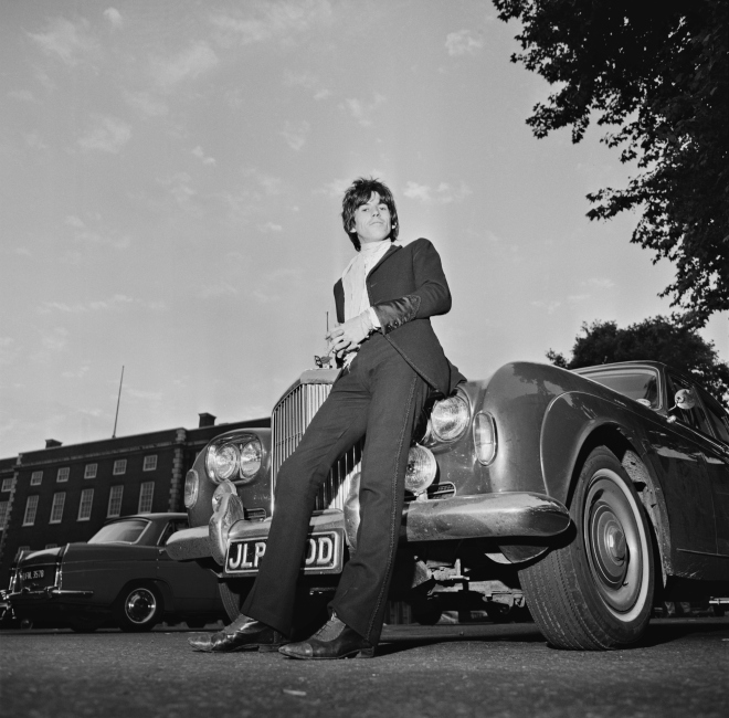 Keith Richards and Bentley, 'Blue Lena'
