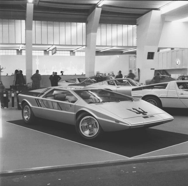 Lot 11 – 1972 Maserati Boomerang – estimate €3,000,000-4,000,000