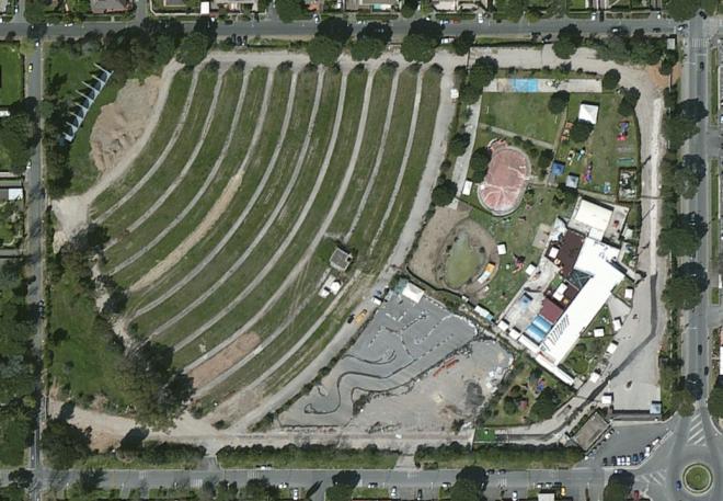 Vista dal satellite