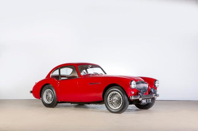 Donald Healey's unique 1953 Austin-Healey 100 Coupe
