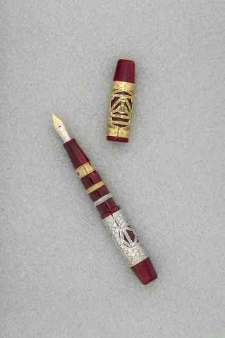 9218441_1, VISCONTI Alchemy Yellow & White Gold Limited Edition 238 Fountain Pen