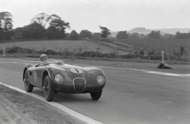 1952 Jaguar C-Type XKC 011 - Credit, Revs Digital Library