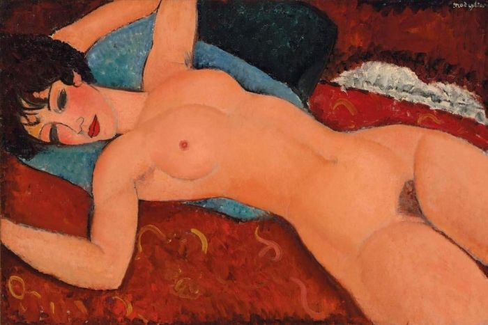 Christie's New York: Amedeo Modigliani's Nu couché sold for $170 mln