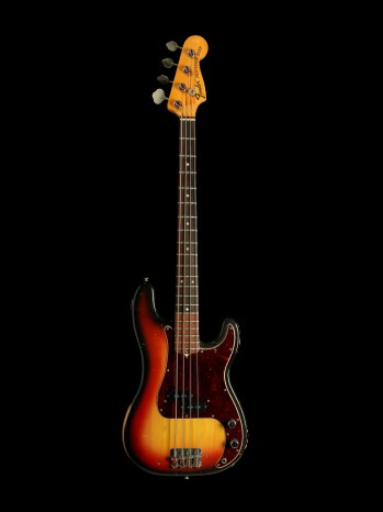 Roger Waters - a Fender Precision bass guitar