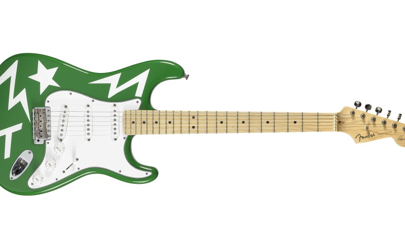 Ed Sheeran's Fender Stratocaster at Bonhams 10 December Entertainment MemorabiliaSale