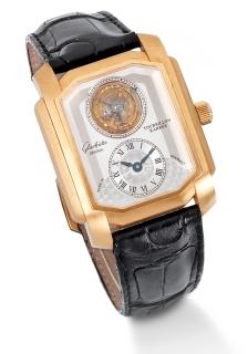 Glashutte tourbillon wristwatch