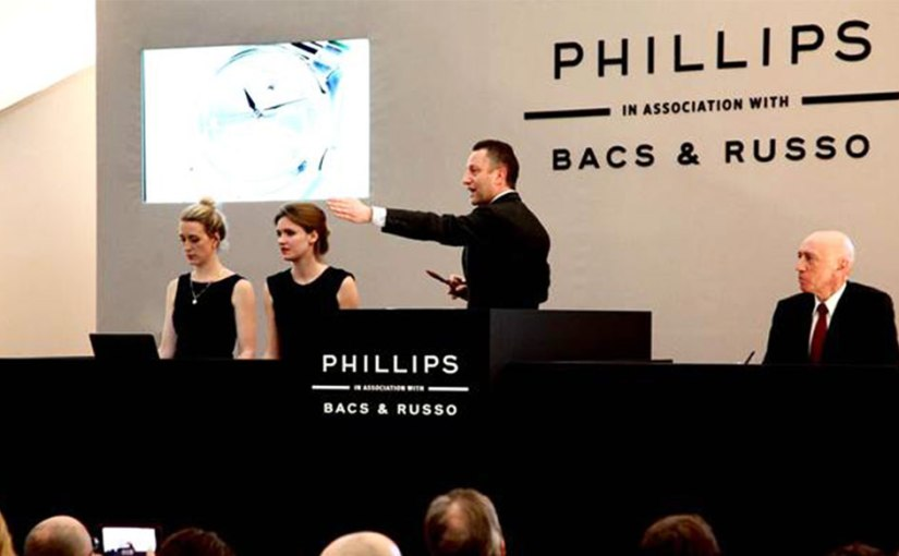 Phillips in Association with Bacs & Russo: The Only Watch auction – November 7,Geneva