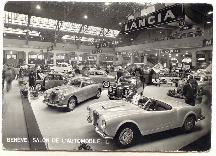 1955 B24S 1.002 Lancia Geneva Motor Show