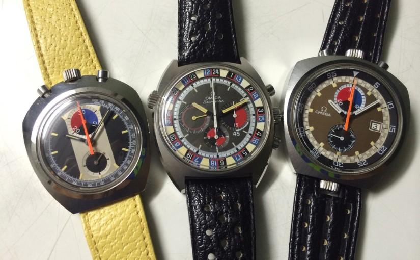 A wonderful set of Omega Chronograph Seamaster for sale on meridianaeshop.com