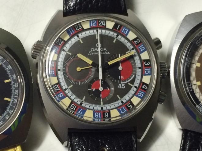 Omega Seamaster Soccer gmt, orologio molto raro in condizioni newoldstock, cinturino e fibbia originali dell epoca, quadrabte esotico, movimento carica manuale 861.