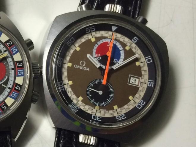 Omega Bullhead quadrante marrone condizioni newoldstock cinturino e fibbia originali, rarissimo modello.