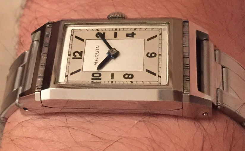 Another outstanding timepiece on meridianaeshop.com: Marvin Cabrio'40s