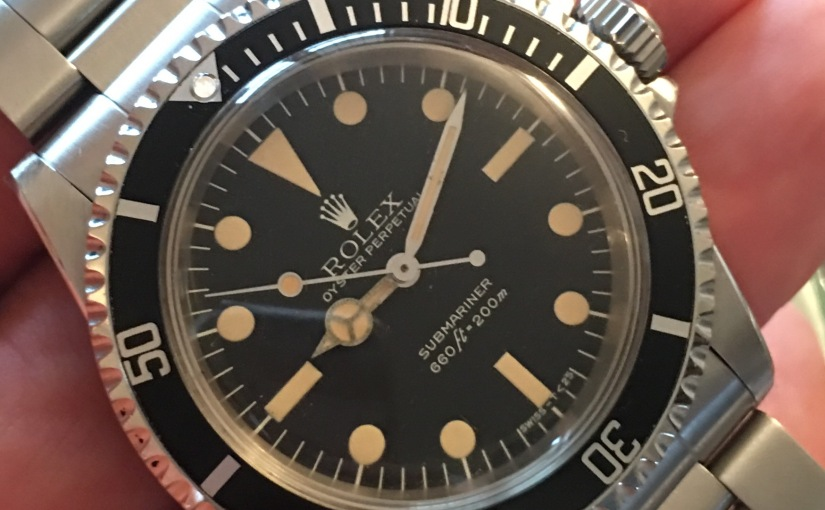 A Full Set 1984 Rolex Ref. 5513 for sale on theshop