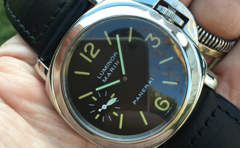 For sale on the shop: Panerai – Luminor Marina Ref. PAM001 Full Set