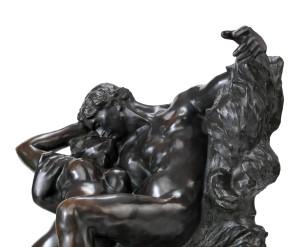 Auguste Rodin (French, 1840-1917) Eternel printemps, second état, 1ère réduction 4