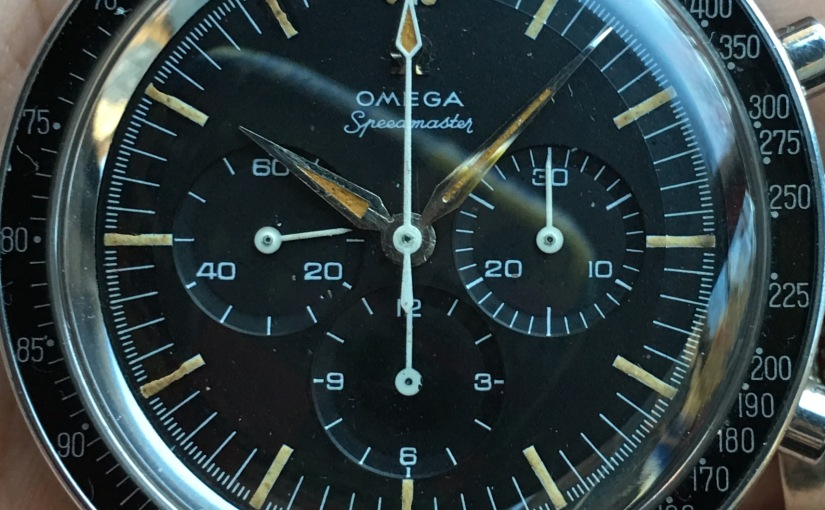 This special 1963 Omega Speedmaster premoon Ref. 2998-6 with extract for sale on theshop