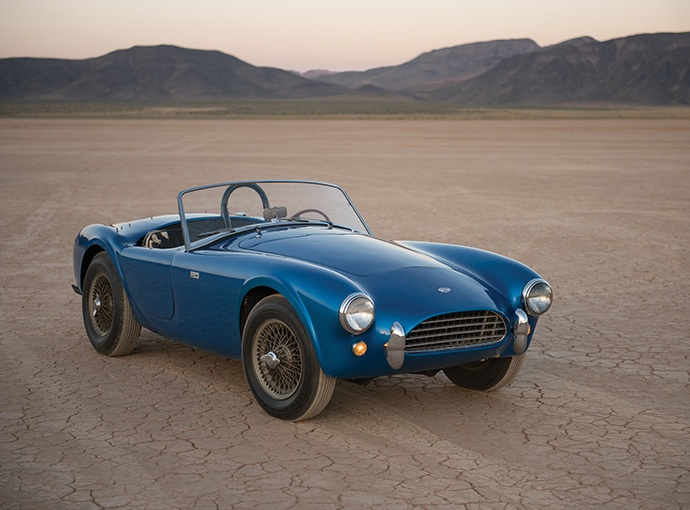 RM Sotheby's | THE MOST IMPORTANT AMERICAN SPORTS CAR TO EVER BE OFFERED FOR SALE: THE VERY FIRST SHELBYCOBRA