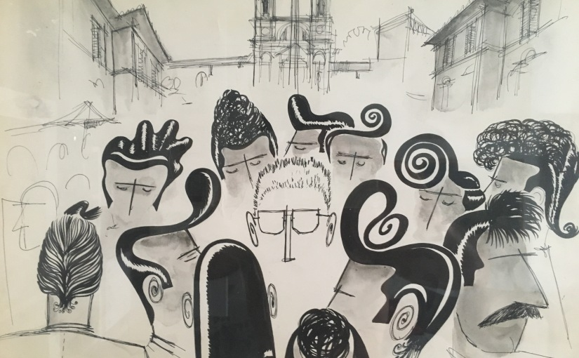 Art | Pino Zac: alcuni disegni inediti del grande artista scomparso 30 annifà