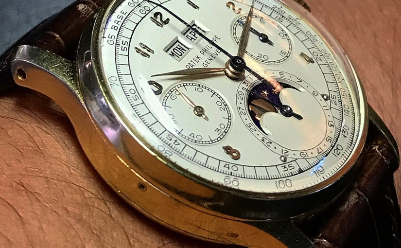 Preview | An exceptional and extremely rare gold Patek Philippe Ref. 1518 soon hereon