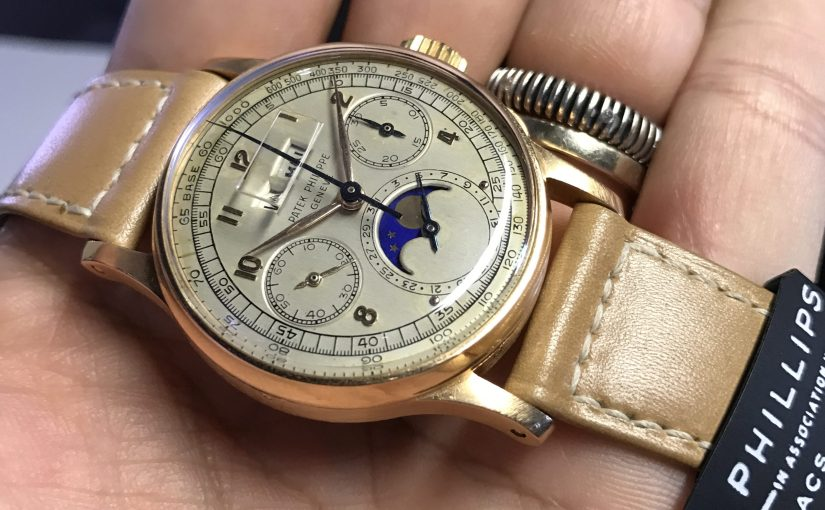 Phillips | The Pink Gold 1518 Patek Philippe record