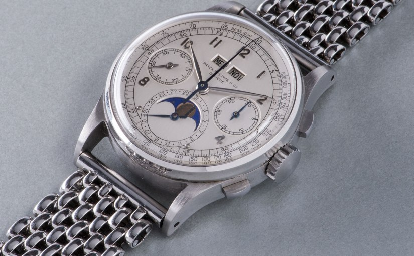 Phillips | His Majesty Patek Philippe Ref. 1518 in steel at The Geneva Watch AuctionFour