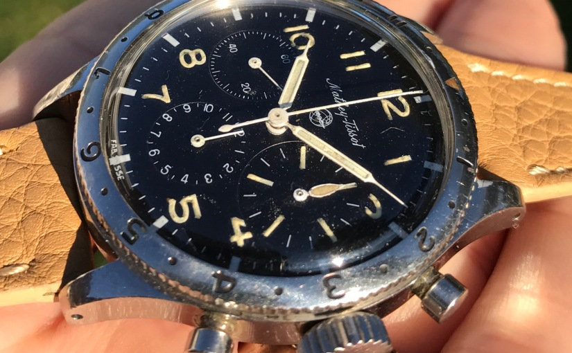 Shop | The Mathey-Tissot Type 20 Stainless Steel FlybackChronograph