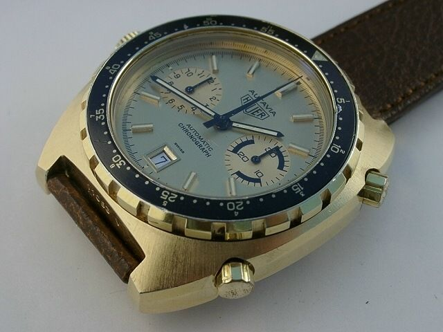 Heuer Ref. 114.603 Gold-Plated