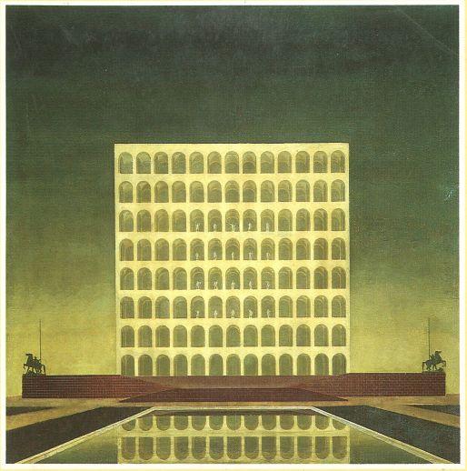 Palazzo della Civiltà del Lavoro (bozzetto del 1937)